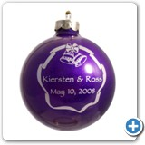 purple-wedding-favor-christmas-ornament